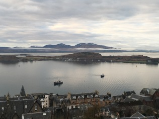 Oban-View from McCaig's Tower