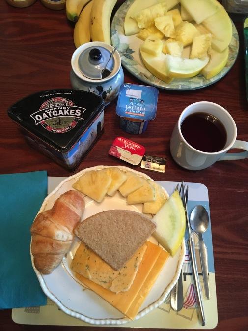 Oban-Breakfast at Billy's
