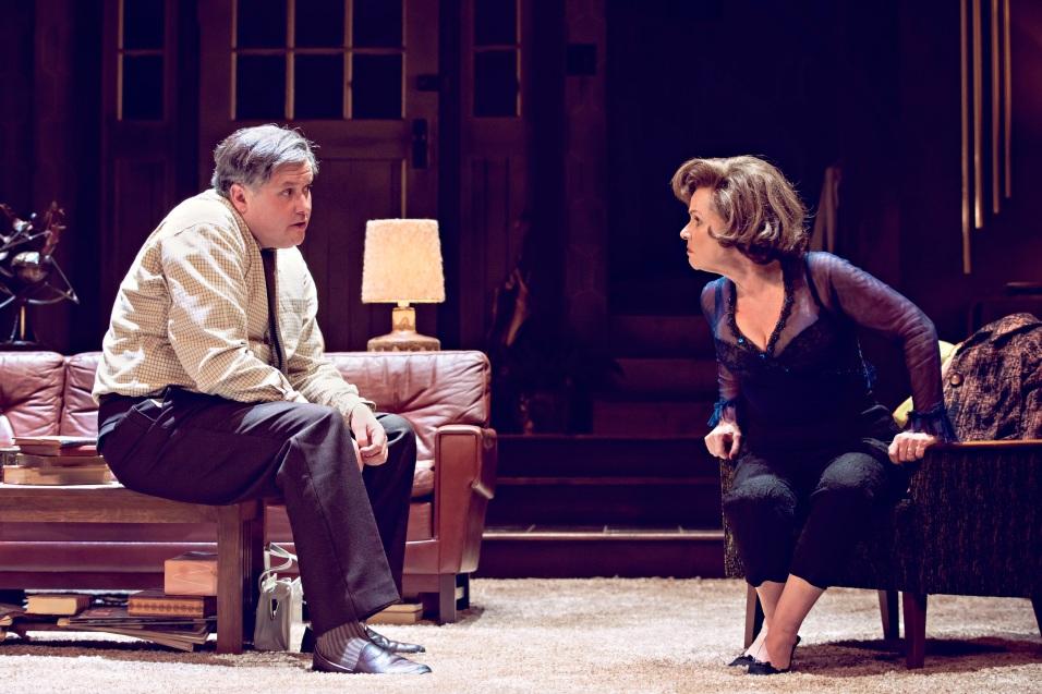 WHO'S AFRAID OF VIRGINIA WOOLF - Harold Pinter theatre Conleth Hill and Imelda Staunton