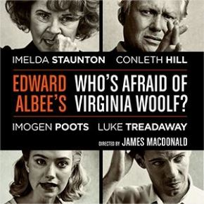 Who's Afraid of Virginia Woolf - Harold Pinter theatre - header