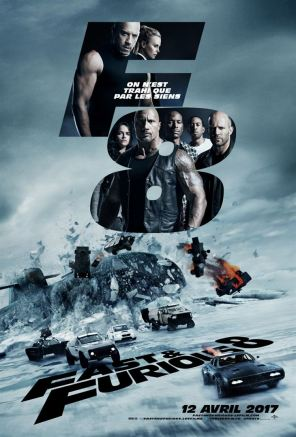 Fast and Furious 8 - The Fate of the Furious poster