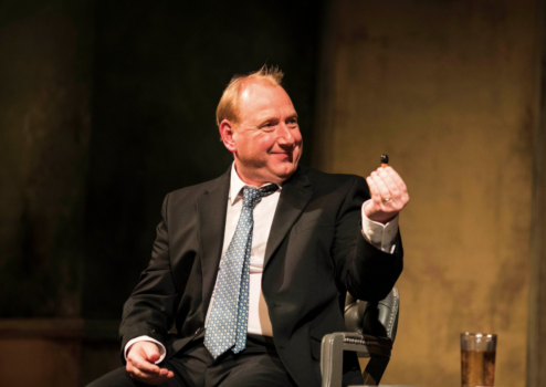 Adrian Scarborough, éclatant dans Don Juan in Soho - DR