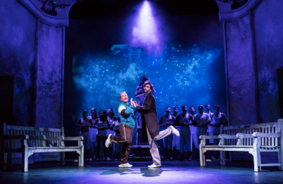 David Tennant et Adrian Scarborough dans Don Juan in Soho - DR
