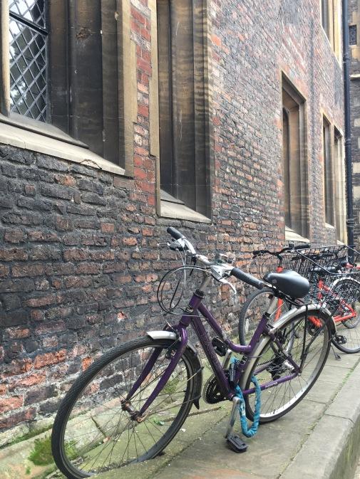 Bikes in Cambridge