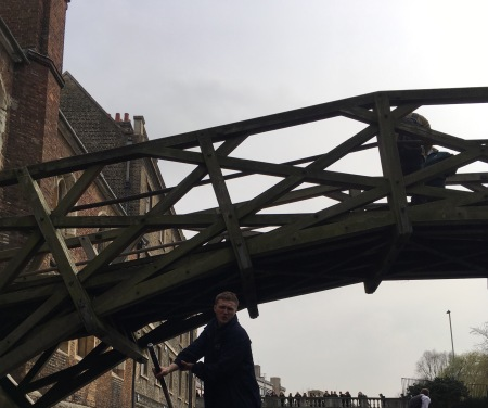 Cambridge, the Mathematical Bridge