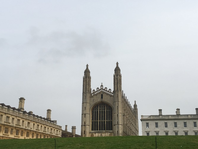 King's College Chapel from the river Cam