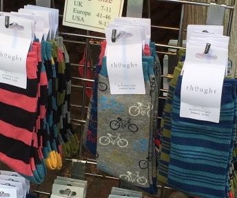 Cambridge Market on a Sunday morning - Thought Socks