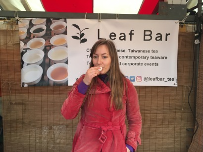 The Leaf Bar in Cambridge Market