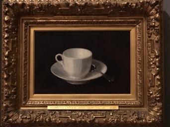 Fitzwilliam Museum in Cambridge - Henri Fantin-Latour, White cup and saucer, 1864