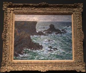 Fitzwilliam Museum in Cambridge- Claude Monet, Rocks at Port-Coton, the Lion Rock, Belle-ïle, 1886