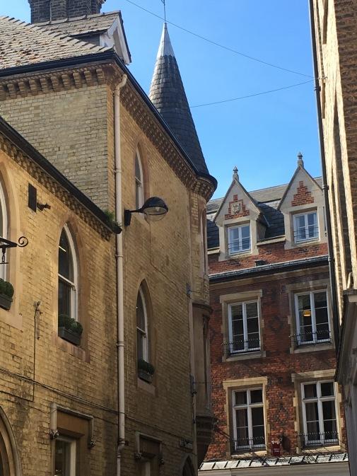Walking around Cambridge
