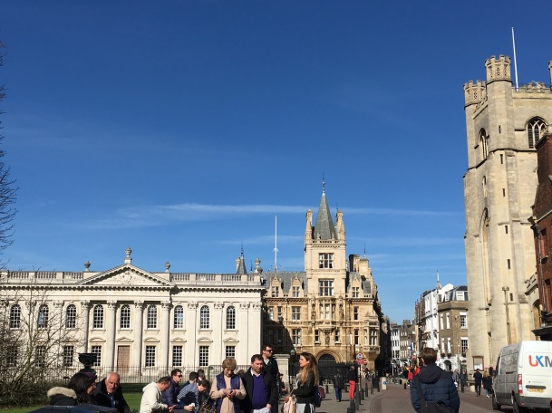 Walking in Cambridge
