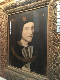 Inside King's College Chapel in Cambridge - Richard III