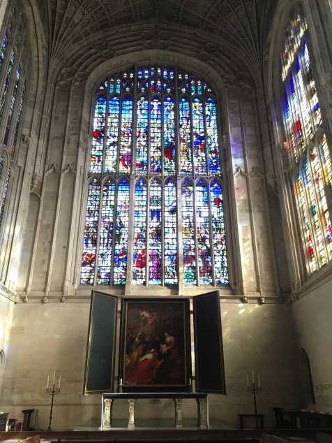 King's College Chapel in Cambridge - Rubens' Adoration of the Magi