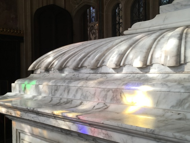 King's College Chapel in Cambridge - jeux de lumière