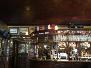 The RAF Bar at The Eagle pub in Cambridge