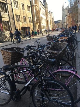 Des vélos à Cambridge