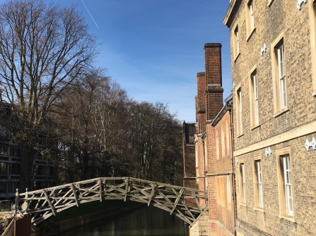 The Mathematical Bridge in Cambridge