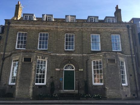 Darwin College in Cambridge, where Darwin's grand-daughter lived