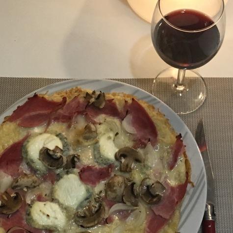 Ma pizza sicilienne à La Grosse Tour, restaurant à Tours