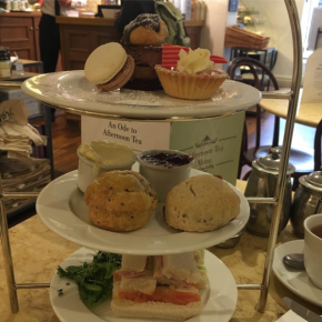 Tea Time at Harriet's in Cambridge - Special Afternoon Tea