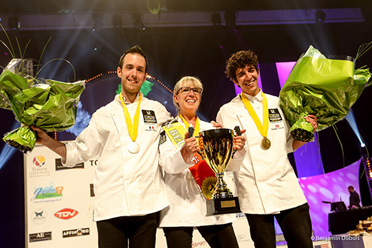 Mondial du fromage de Tours 2017 - la Belge Nathalie Vanhoven a gagné le concours du meilleur fromager