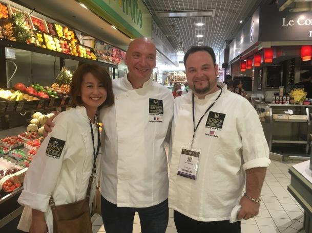 Les fromagers font leurs courses aux Halles - Mondial du fromage 2017
