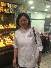 Miyuki Murase, Meilleur fromager 2013, était à Tours pour soutenir les participants de cette année