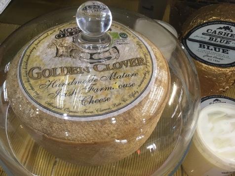 Mondial du fromage de Tours 2017 - Golden Clover, un cheddar fleur de trèfle irlandais
