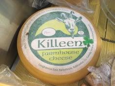 Killeen, une tomme de chèvre irlandaise, au Mondial du fromage de Tours 2017