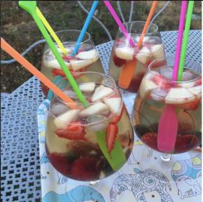 Recette au thé : le cocktail Royal Ab' Fab' au thé glacé Jardin bleu de Dammann