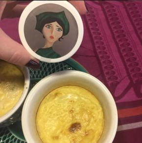 Recette œufs au lait Milky Oolong Les Jardins d'Osmane