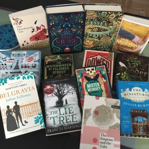 books of 2017 english fiction: Jessie Burton, Ian McEwan, Naomi Alderman, Julian Fellowes, Margaret Atwood...