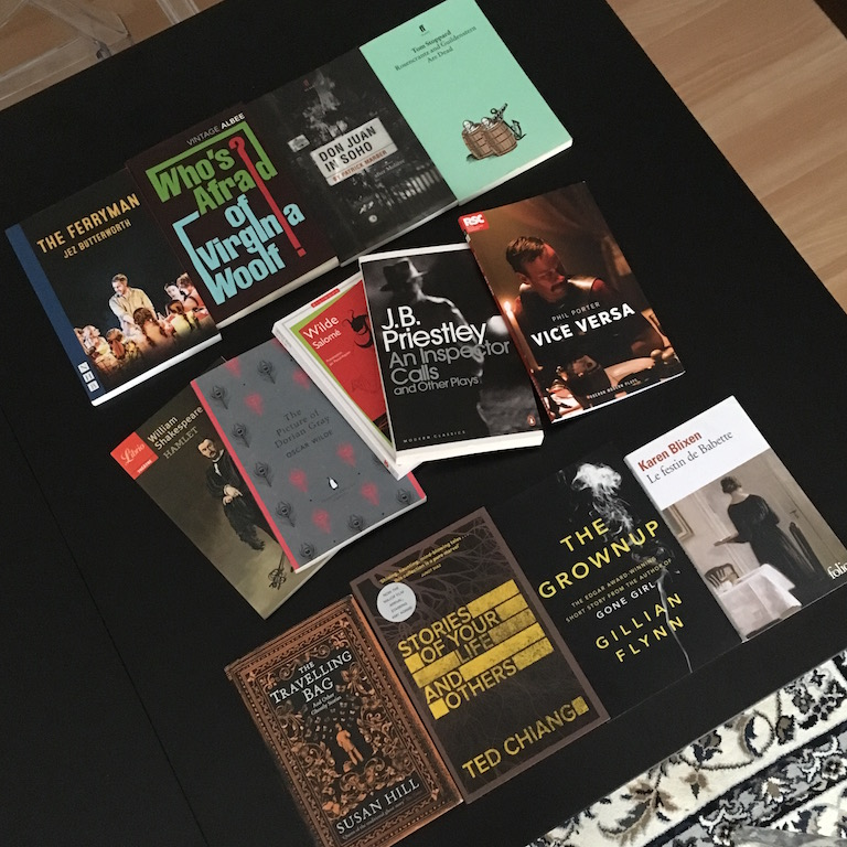 Books of 2017 nouvelles classiques