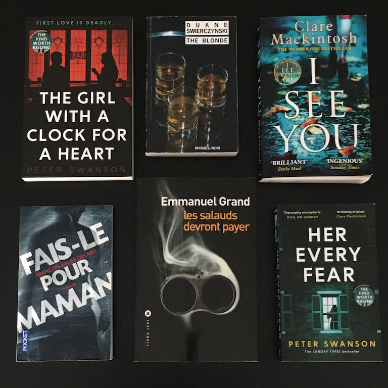 Books of 2017 polars thrillers