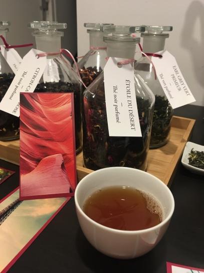 Rencontre Dammann Au nom de la rose : thé noir Étoile du désert de Dammann Frères